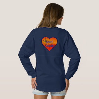 Bleed Orange Heart Spirit Jersey