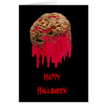 Bleeding Brain-greeting card