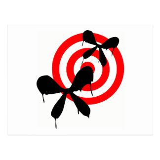 Bleeding Butterfly: Bullseye Postcard