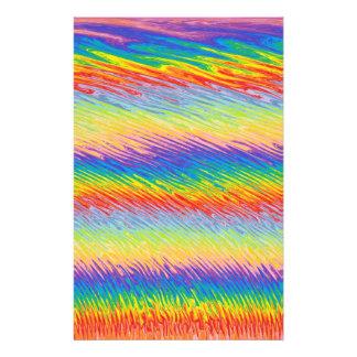 Bleeding Colors Stationery