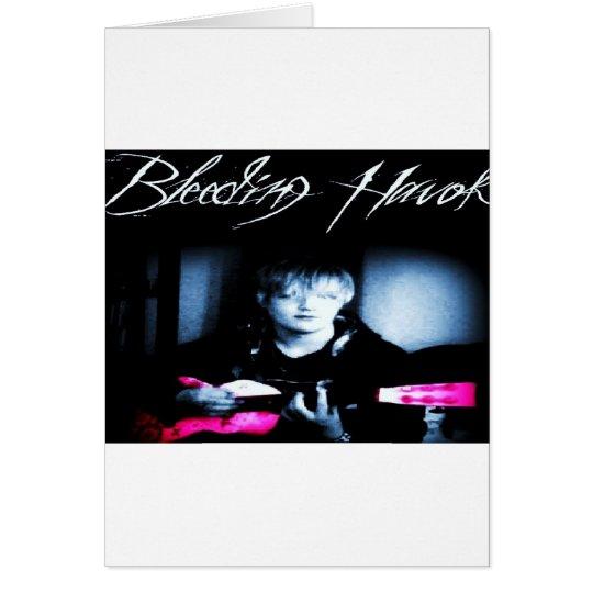Bleeding Havok Merch Card