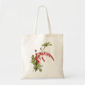 Bleeding Heart Canvas Bag