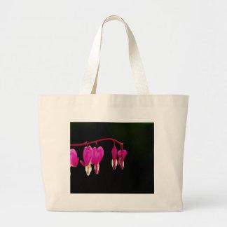 Bleeding-heart Canvas Bags