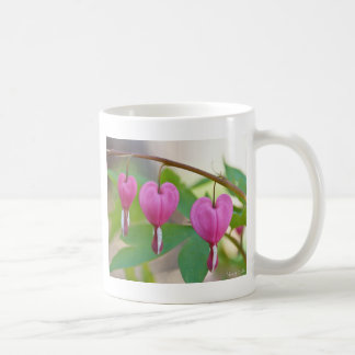 Bleeding Heart Blossoms Coffee Mug