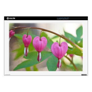 """Bleeding Heart Blossoms Skin For 17"""" Laptop"""