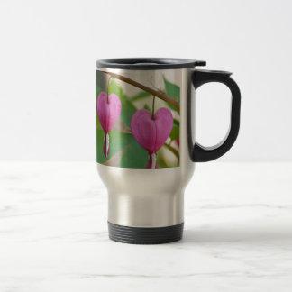 Bleeding Heart Blossoms Travel Mug