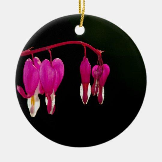 Bleeding-heart Ceramic Ornament