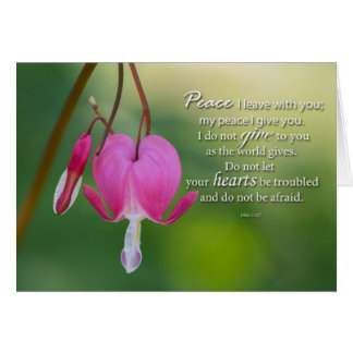 Bleeding heart encouragement card