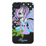 Bleeding Heart Fae Blue-Purp iPhone 4/4S Case-Mate Case-Mate iPhone 4 Cases
