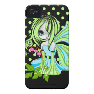 Bleeding Heart Fae Green-Blue Case-Mate ID™  4/4S iPhone 4 Case-Mate Cases