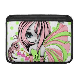"""Bleeding Heart Fae MacBook Air 11"""" Sleeve Pink-Gre Sleeve For MacBook Air"""