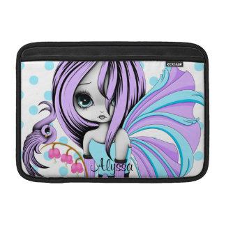 """Bleeding Heart Fae MacBook Air 11"""" Sleeve Purple-B Sleeves For MacBook Air"""