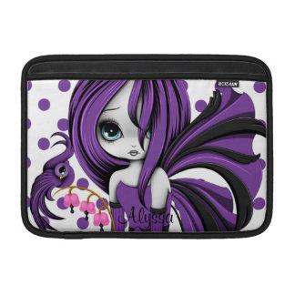 """Bleeding Heart Fae MacBook Air 11"""" Sleeve Purple MacBook Air Sleeves"""