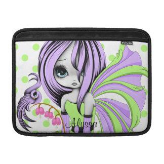 """Bleeding Heart Fae MacBook Air 13"""" Sleeve Purple-G MacBook Sleeve"""