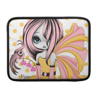 Bleeding Heart Fae MacBook Air Sleeve Pink-Yel