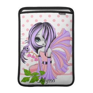 Bleeding Heart Fae MacBook Air Sleeve Purple-Purpl