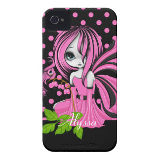 Bleeding Heart Fae Pink Case-Mate ID™  4/4S iPhone 4 Case-Mate Cases