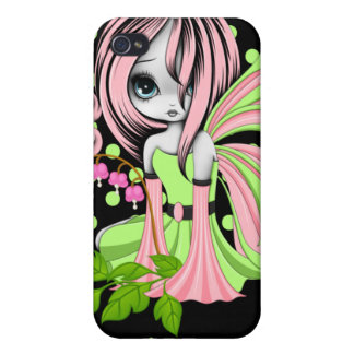 Bleeding Heart Fae Pink-Green iPhone 4/4s Speck iPhone 4 Case