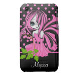 Bleeding Heart Fae Pink iPhone 3G/3GS Case-Mate Case-Mate iPhone 3 Cases