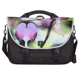 Bleeding Heart Floral Commuter Bag