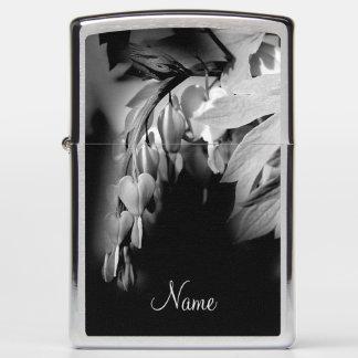 Bleeding Heart Flower Personalized Nature Zippo Lighter