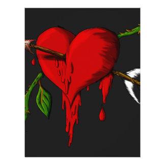 Bleeding Heart Flyer Design