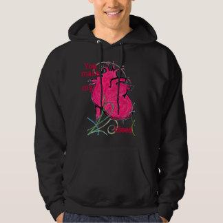 bleeding heart hoodie