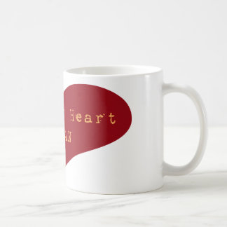 Bleeding Heart Human Coffee Mug