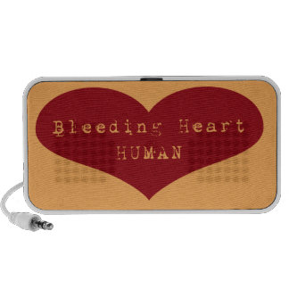 Bleeding Heart Human Mini Speakers