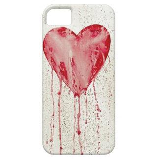 bleeding heart iPhone SE/5/5s case