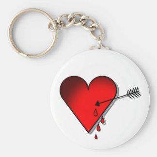 Bleeding heart keychain