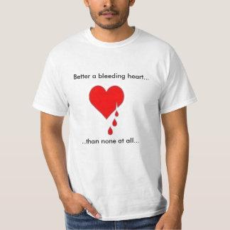 Bleeding Heart Liberal Tee Shirt