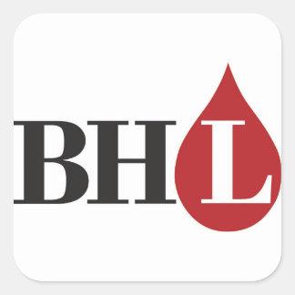 Bleeding Heart Libertarian Square Stickers