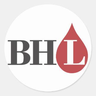 Bleeding Heart Libertarians! Classic Round Sticker