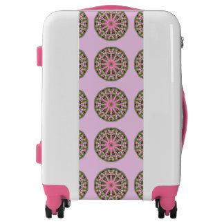 Bleeding Heart Nature, Flower-Mandala Luggage