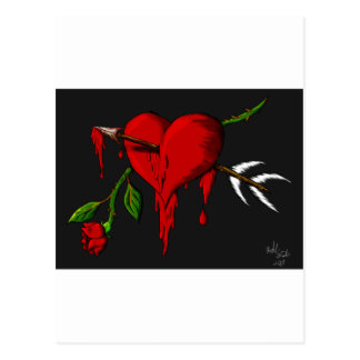 Bleeding Heart Postcard