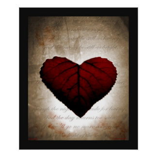 Bleeding Heart Print
