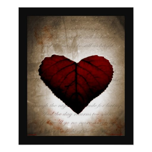Bleeding Heart Print