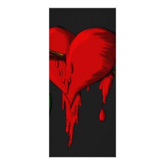 Bleeding Heart Rack Card Template