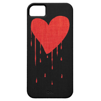 Bleeding Heart Themed iPhone 5 Case