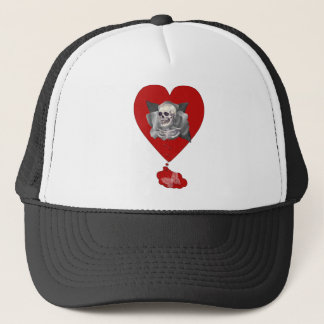Bleeding Heart Trucker Hat