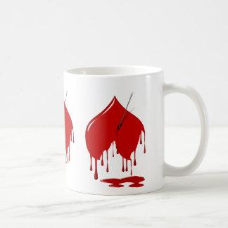 Bleeding Hearts/Arrow  Mug