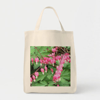 Bleeding Hearts Bouquet Recycle Grocery Bag