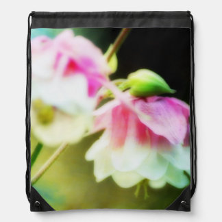 Bleeding Hearts by Shirley Taylor Drawstring Backpack