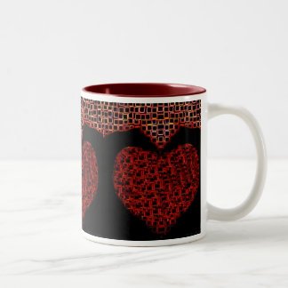 """""""Bleeding Hearts"""" coffee cup by Zoltan Buday Coffee Mug"""