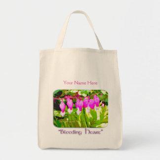 Bleeding Hearts Floral Tote Bag