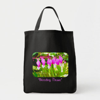Bleeding Hearts Floral Tote Bag
