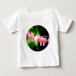 Bleeding Hearts flower Baby T-Shirt