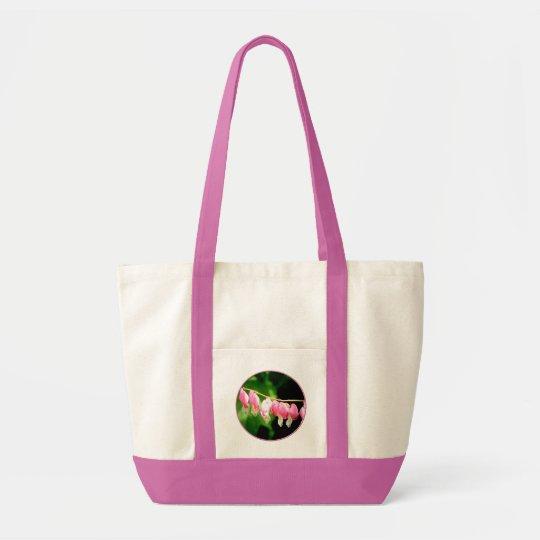 Bleeding Hearts flower Tote Bag