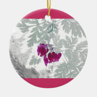 Bleeding Hearts Ornament